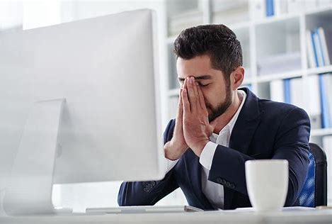 Frustrated team member